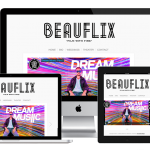 Beauflix - Responsive Web Design - The Chase Design