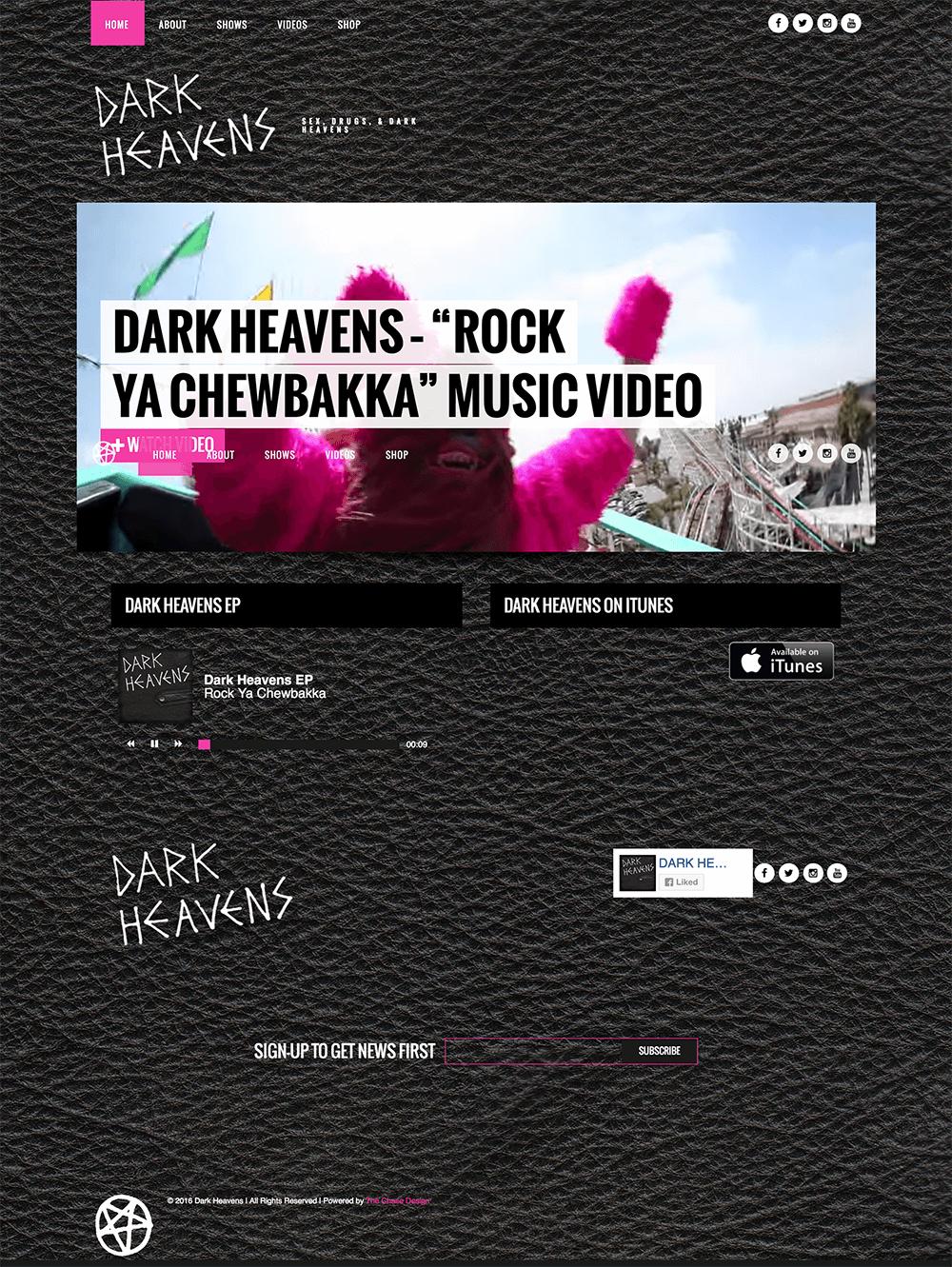 Dark Heavens - The Chase Design