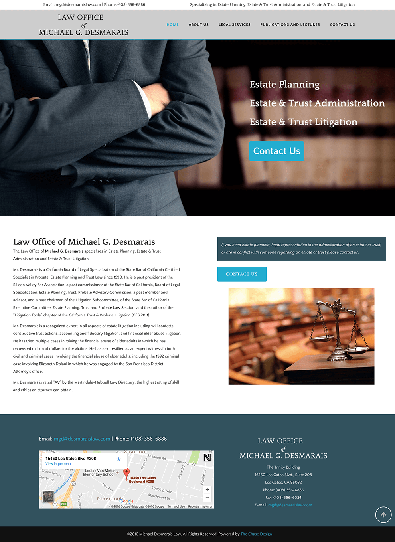 Law Office of Michael Desmarais - The Chase Design
