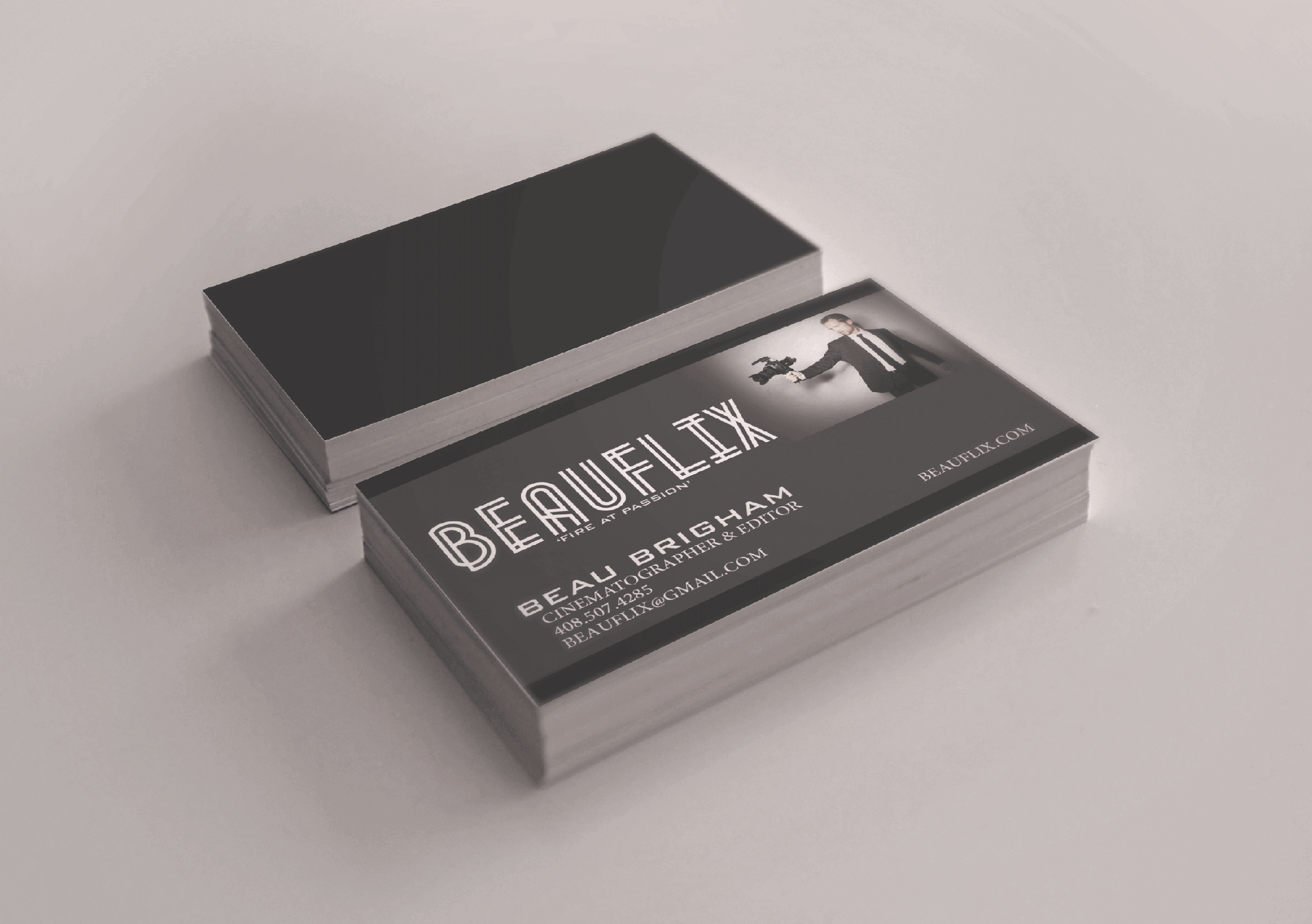 Beauflix Business Cards - The Chase Design