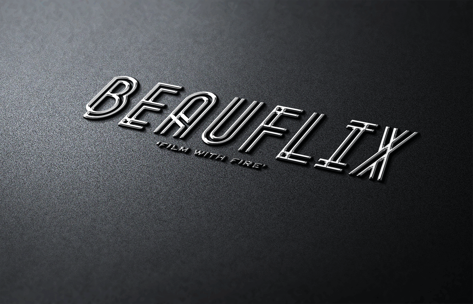 Beauflix Logo - The Chase Design