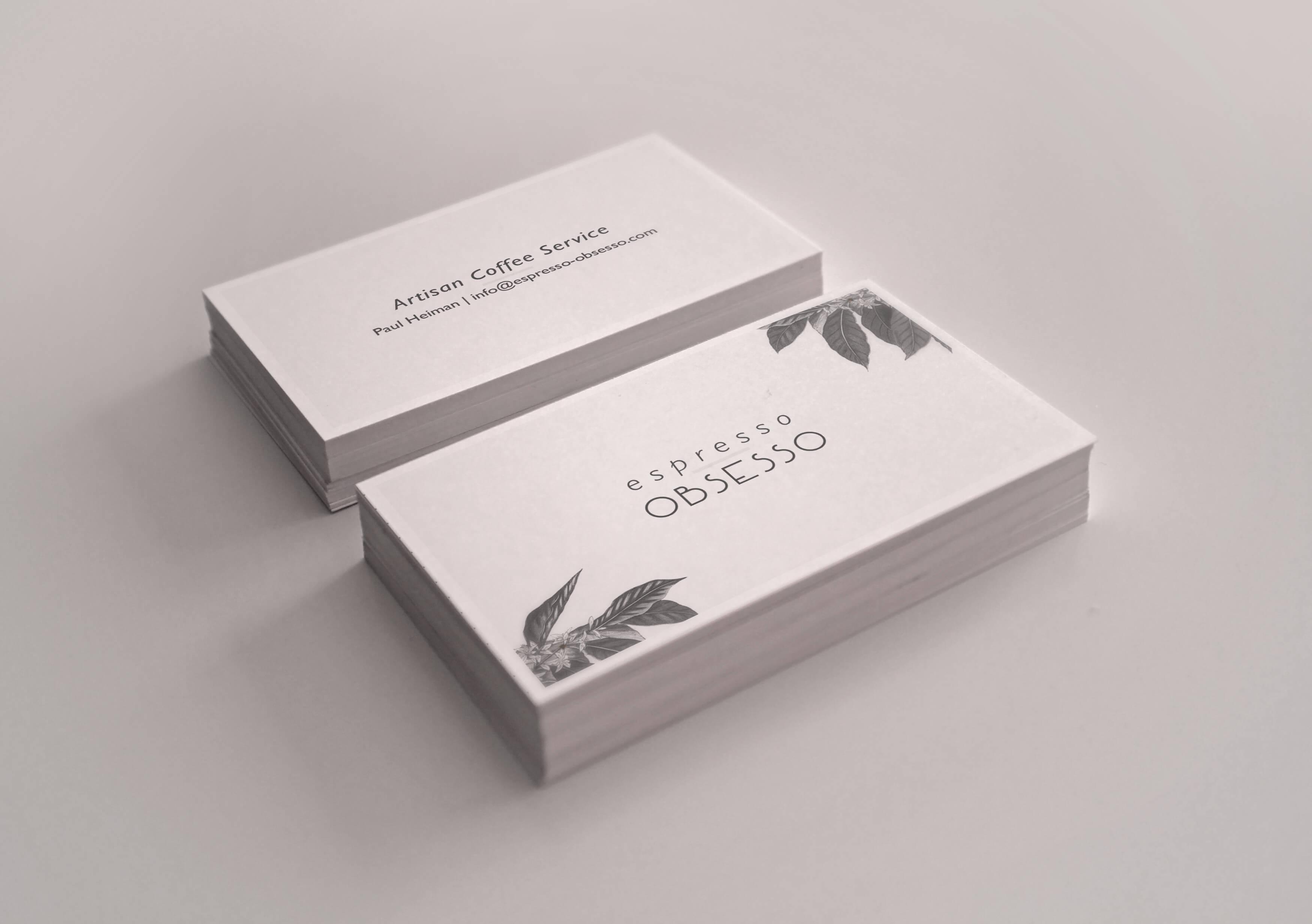 Espresso Obsesso Cards - The Chase Design