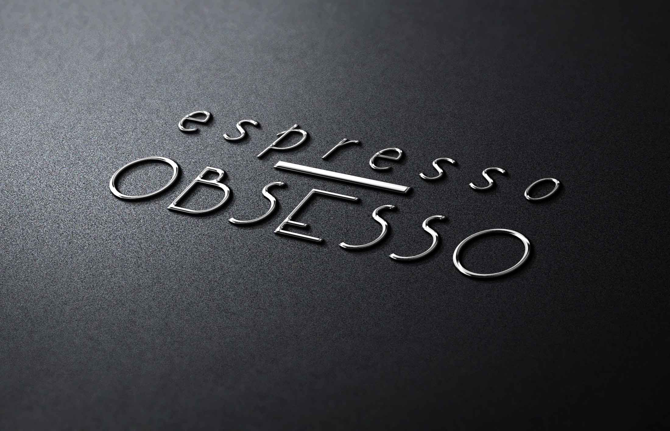 Espresso Obsesso Logo - The Chase Design