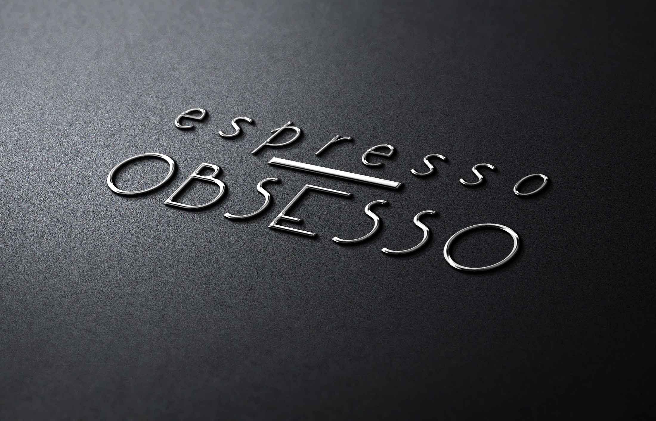 Espresso Obsesso Logo - The Chase Design