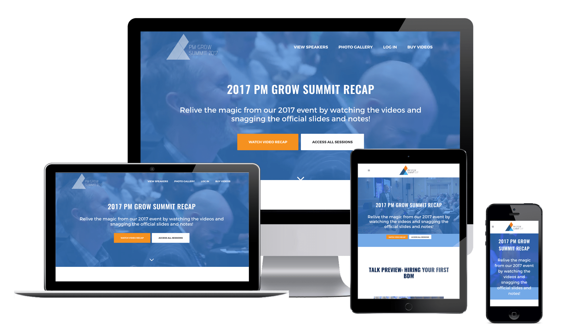 pm grow summit 2017 - The Chase Design