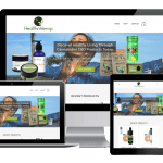 healthnhemp.com - the chase design - health and hemp - website design los gatos