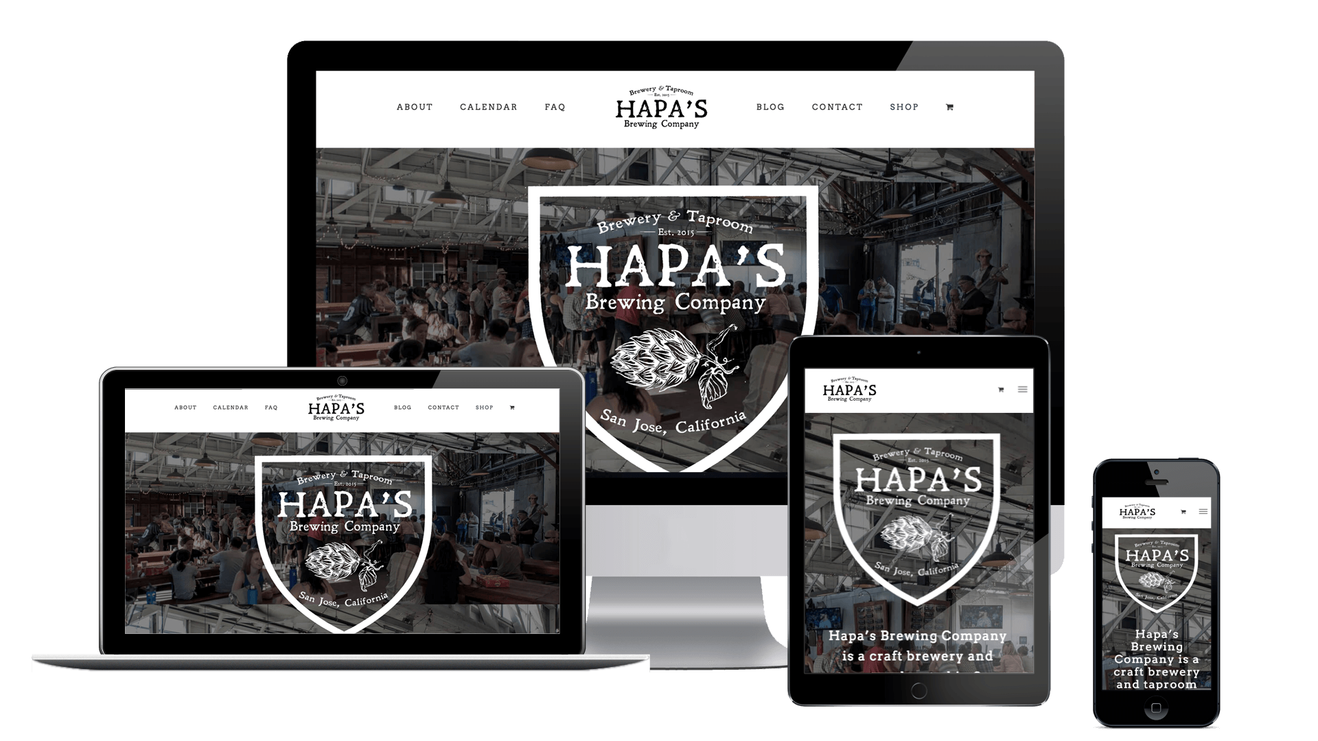 Hapas Brewing Company - The Chase Design