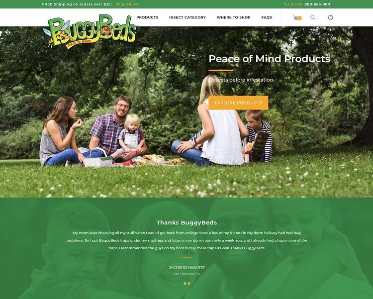 Buggy Beds Website